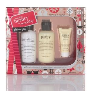 Philosophy Bath - Philosophy see the beauty in every day 3-piece set
